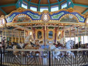 Fort Edmonton Park merry go round