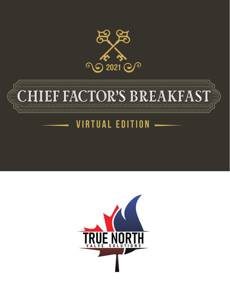 Chief Factors Breakfast Logo